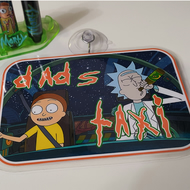 Rick and Morty - Dads taxi Sign for Cars and Windows (double sided)