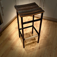 The 'Whiskey Stave' Barstool  (Custom Colours)