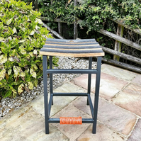 The 'Whiskey Stave' Counter Stool (Custom Colours)