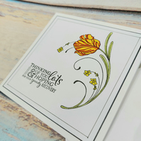 Thinking of You Get Well Card - Speedy Recovery