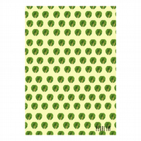Brussel Sprouts Wrapping Paper