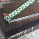 Tablet woven bookmark