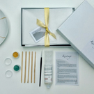 Kintsugi Japanese gift box craft kit with 2 colours