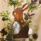 Fused Glass Bunny