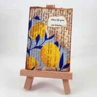 ACEO - when life gives you lemons