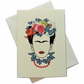 Greeting card - inspired by Butterfly Frida kahlo - artwork by Betty Shek