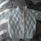 14-15 inch baby girls cardigan