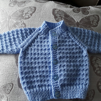 Newborn baby boys cardigan
