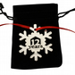 12 Year Metal Snowflake Christmas Tree Hanging Decoration - Anniversary