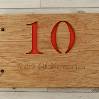 10 Year of Memories - Scrapbooks for Anniversaries, Birthdays, Christmas & More