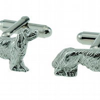Cavalier King Charles Spaniel Dog Cufflinks