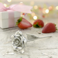12th Anniversary Gift Everlasting Rose - 12 Year Anniversary Gift Idea