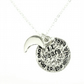 I Love You To The Moon And Back Necklace - 11th Wedding Anniversary