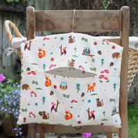 Woodland Animals Clothes Peg Bag
