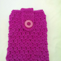 """Pink 7"""" Tablet Kindle Fire Cover Cozy"""