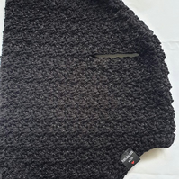 Black sparkly dog sweater, dog sweater for small dog or puppy