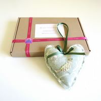 Scented heart kit