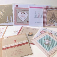 EARLY XMAS OFFER,Christmas Card Bulk Pack of Ten,Assorted Designs,