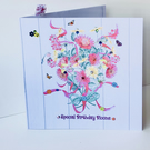 Birthday Card,Greeting Card,Printed and Handfinished,Can Be Personalised