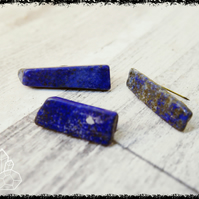 LAPIS LAZULI BADGE Pin Spiritual Shop, Crystal Gift, Crystal Accessories, Spirit