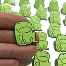 Frog Enamel Pin Badge