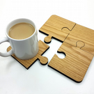 Jigsaw Coasters - Set of 4 - Novelty coasters