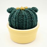 Hand knitted Cactus pin cushion
