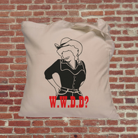 WWDD? Dolly Parton Tote Bag What Would Dolly Do?