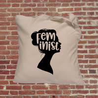 Feminist tote bag. Female empowerment. Perfect gift for feminists