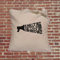 Feminist tote bag. Female empowerment, be heard, speak up