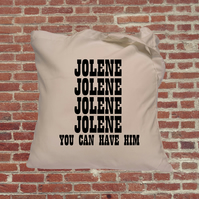 Dolly Parton Tote Bag Jolene