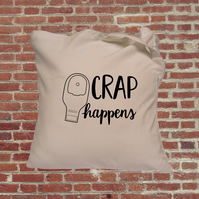 Colostomy tote bag, funny tote bag, stoma, ileostomy, crohns, ostomy bag, invisi