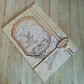 Handmade christening card, christening day card for baby, congratulations on you