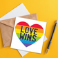 LGBTQ card: Love wins