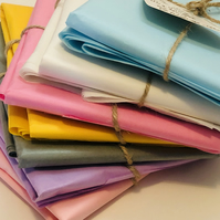 Tissue Paper Gift Wrap - 5 sheets - Plastic Free - Eco Friendly - Pastels