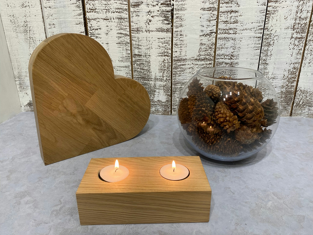 Ash Tealight Candle Holders