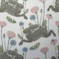 Spring Hare Roller Hand Towel