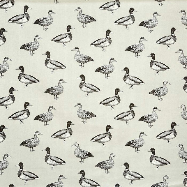 Ducks on Light Stone Colour Roller Hand Towel