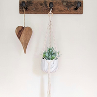 Macrame Planter WITHOUT Pot Bohemian Bohemian Home Decor Indoor Planter Wall
