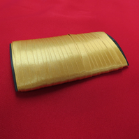 10mm Gold Double Sided Satin Ribbon x 25 metres
