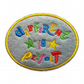 Childrens Felt Patch Different is Perfect Sew-On Patch