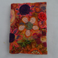 Embroidered Blank Refillable A6 Notebook, Journal, Sketchbook, Organiser,
