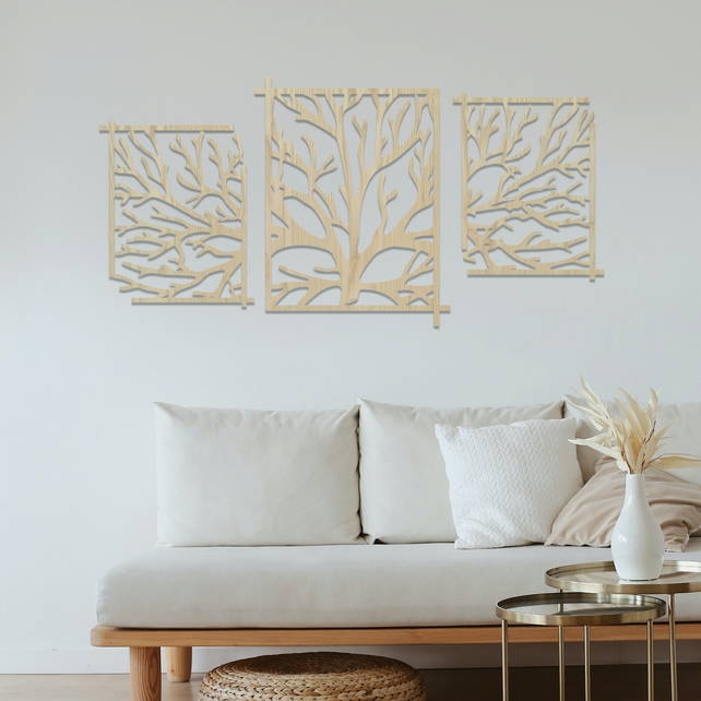 Tree Of Life Wall Art Decoration from images.folksy.com