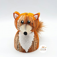 Fox made from a book