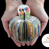 Rupert Bear Gift - Book Art Apple