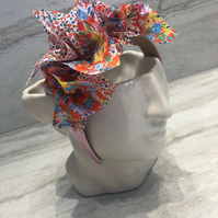 Handmade Fabric Headband made with Liberty print fabric - 014 Edition