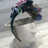 Fabric Headband Handmade With African Print (UK) - 010 Edition