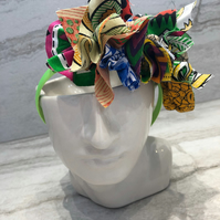 Fabric Headband Handmade With African Print (UK) - 008 Edition