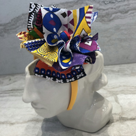 Fabric Headband Handmade With African Print (UK) - 007 Edition
