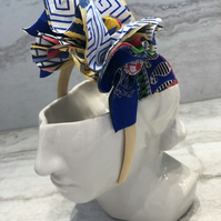 Fabric Headband Handmade With African Print (UK) - 006 Edition